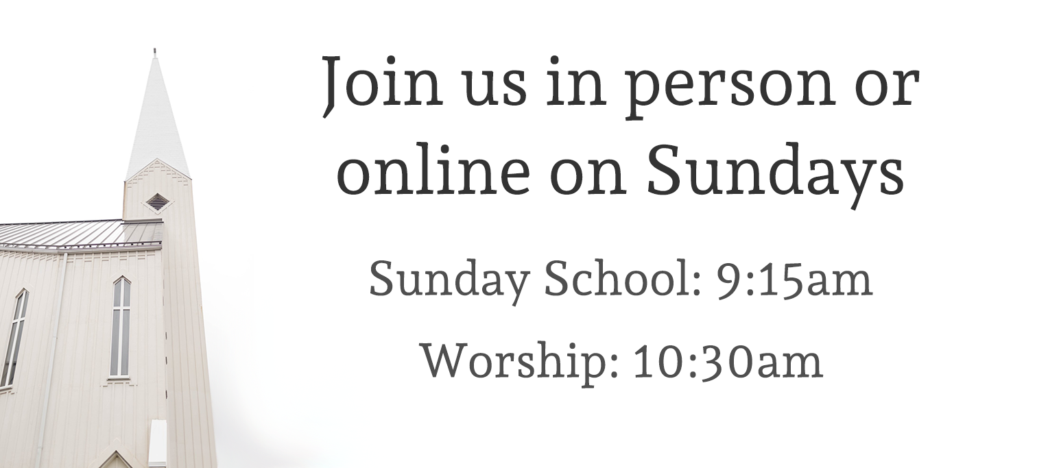 Join us in person or online